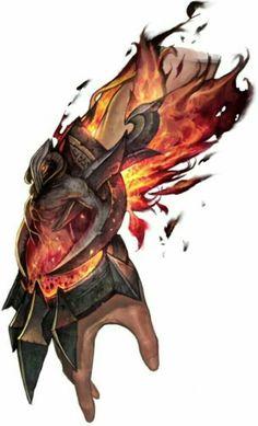 Fire Gauntlet