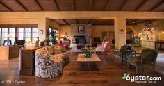 Lobby at the Bernardus Lodge
