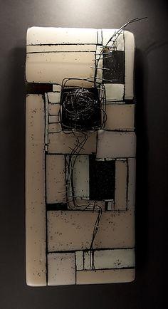 Entwined: Meg Branzetti and Vicky Kokolski: Art Glass Wall Art - Artful Home