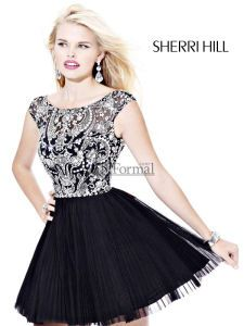 Sherri Hill 2012 Prom Dress 2814 - little black dress