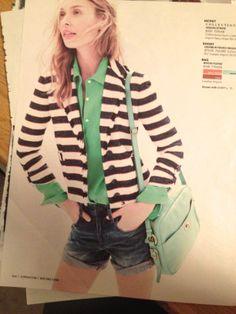 Green & stripes
