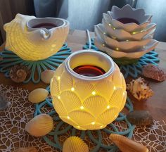 Plug in Warmers! Partylite's 2017 collection is the BEST! Ocean and beach themes... perfect for every room in your house! Shop at partylite.biz/FlaminFiasco