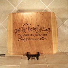 Check out this item in my Etsy shop https://www.etsy.com/listing/261877229/family-large-bamboo-cutting-board