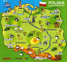 Polish Symbols, Learn Polish, Carol Songs, Polish Language, Maps For Kids, Polish Recipes, Polish Food, Family Roots, Thinking Day