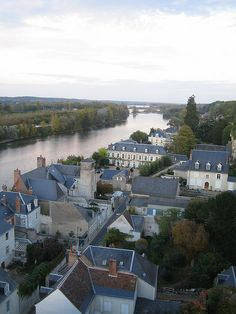 Chateau Royal D'Amboise.  We canoed down this river in Amboise.