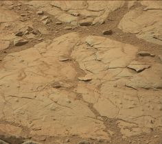 "More of the odd ""bubbles"" in this new Mastcam image from Curiosity, sol 137. They look like tiny volcanoes..."