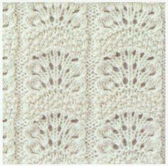 Lace Knitting Stitch #27