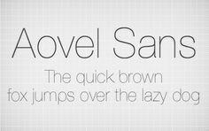 15 Thin Free Fonts