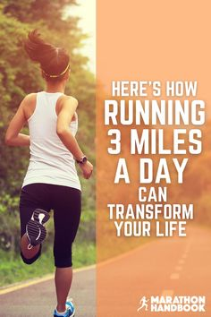 Wow! I've just completed a week of running 3 miles a day and feel great!  This guide really helped me in breaking down how to run 3 miles each day for a week - and all the benefits are true!   great for run training :) Fitness Pal, Physical Fitness, Fitness Tips, Health Fitness, Training For A 10k, Training Plan, Running For Beginners, How To Start Running, Running Workouts