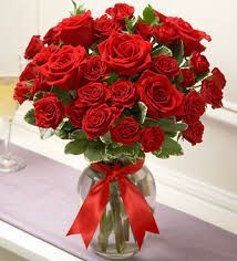 red valentine flowers - Google Search