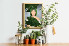 Printable art wall decoration for plant lovers Living Room Womens Office Decor, Printing Services, Online Printing, Christmas Gifts For Her, Living Room Art, Christmas Printables, Printable Wall Art, Wall Art Decor, Lovers