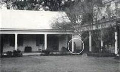 Dating back to the late 18th century, The Myrtles Plantation in St. Francisville, Louisiana is said to be one of the most haunted homes in America.  This photo purports to be the ghost of Chloe, a slave girl whose ear was cut off by her owner, Clark Woodruff.