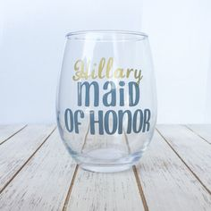 Hey, I found this really awesome Etsy listing at https://www.etsy.com/listing/399588781/bridesmaids-stemless-wine-glass-gift