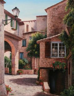 villaggio italiano -