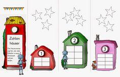 Zahlenhäuser Mathe Klasse 1 … | Giáo dục tiểu học | Pinte…