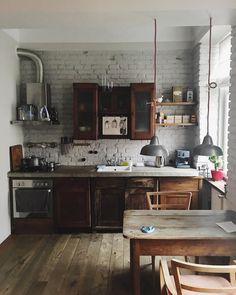 acho que é a cozinha mais perfeita que já vi na vida.