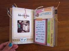 For the Moments and Musings that Stick: mini book of our mini day trip