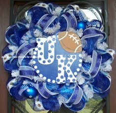 UK Wildcats University Of Kentucky Football Deco