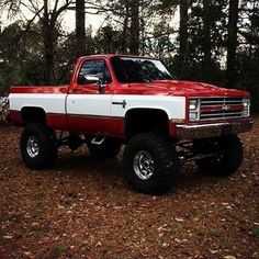 Chevy Trucks lifted Ideas For You Offroad Gmc Trucks, Chevy Pickup Trucks, Lifted Chevy Trucks, Classic Chevy Trucks, Chevy Pickups, Chevrolet Trucks, Diesel Trucks, Cool Trucks, Chevy 4x4