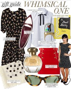 Gift Guide: The Whimsical One inspired by Zooey Deschanel