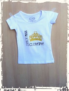 "T-shirt ""Little miss cutiepie"""
