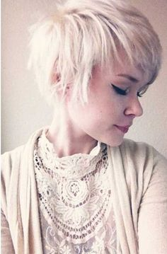 Messy, Short Hair. Awesome Hairstyle Ideas for Short Cuts. #hairstyle #shorthair