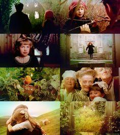 'the secret garden' - amazing childhood movie. went on the most beautiful dream-adventures afterwards =)
