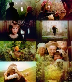 'the secret garden' - amazing childhood movie. went on the most beautiful dream-adventures afterwards =)