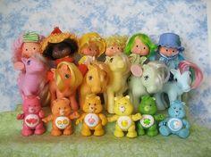 Strawberry Shortcake, My Little Pony & Care Bears!