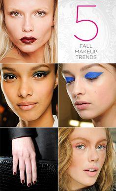 5 Fall 2012 Beauty Trends
