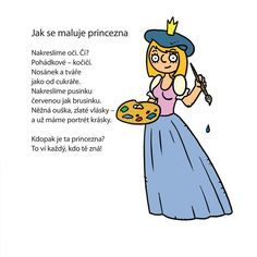 Jiří Žáček: Jak se maluje princezna
