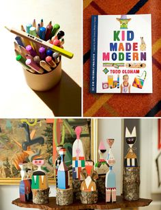Inspired by Todd Oldham's Kid Made Modern studio!