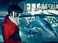 "Vogue September Issue 2012 ""Space Odyssey"" Karen Elson"