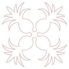 Free Hawaiian Applique Patterns | ... designs, Applique, Quilt Blocks, Animal, Floral, Lacework, etc