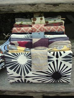 Upholstery Swatch Clutch Wallets