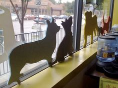 DIY Pet Silhouettes | Apartment Therapy