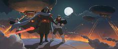Star Wars - Darth Ghibli's Entrance by C780162