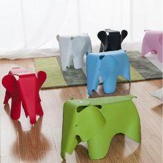 霍客森 Vitra Eames Elephant大象椅 儿童凳子道具 塑料凳 儿童椅