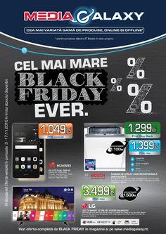 Catalog Media Galaxy Cel mai Mare Black Friday 03 - 17 Noiembrie 2016! Oferte si recomandari: camera Foto DSLR Nikon D3400+, pret nou 1,999 lei
