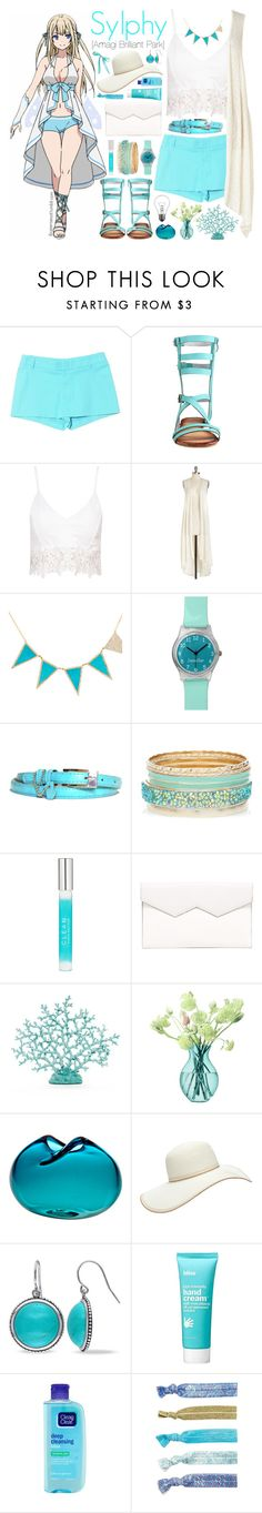Sylphy [Amagi Brilliant Park] by ibuperisesat on Polyvore featuring Gucci, Fabiola Pedrazzini, Jennifer Meyer Jewelry, Miadora, Forever 21, CLEAN, Bliss, LSA International, When Objects Work and Lilly Pulitzer