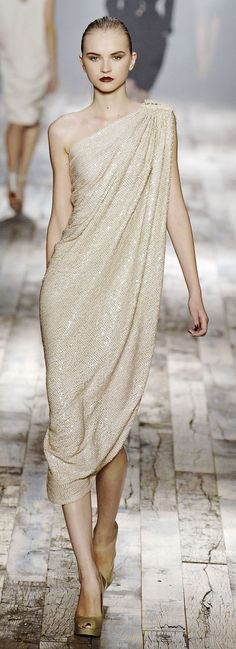 Lanvin Ready To Wear Spring 2008 - i remember how hard i wanted this to be my wedding dress!!!! Max Mara instead.