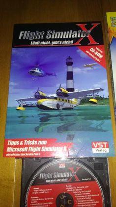 Flugsimulator Handbuch mit CD.