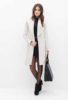 Belted Wrap Coat - Shop All - 2000057124 - Forever 21 EU