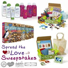 Win over $1000 in gifts that spread love, health and fun. Enter to win here >> http://www.greenkidcrafts.com/spread-the-love-giveaway-2016/