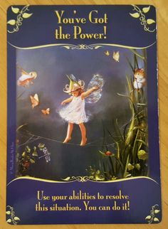 The Fairies would like to remind you that you have the power to make things happen. Messages From Heaven, Angel Prayers, Novena Prayers, Angel Guidance, Angel Numbers, Doreen Virtue, Angels Among Us, Angel Cards, Guardian Angels