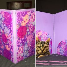 DIY server book. All you need is a printer and mod podge. Super easy.