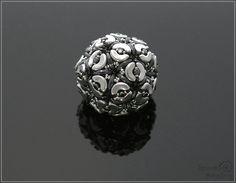Spirala beading: Flora Beaded Bead
