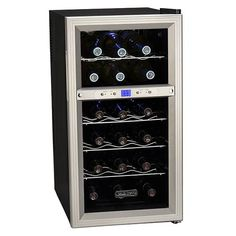 Msy be front vent built in cooler. Koldfront 18 Bottle Dual Zone Thermoelectric Wine Cooler with digital controls & LED lighting. Dual zones allows the Koldfront wine cooler to chill a variety of wines. Thermoelectric Wine Cooler, Thermoelectric Cooling, Wine Refrigerator, Wine Fridge, Best Wine Coolers, Frat Coolers, Cooler Reviews, Wine Chiller, Wine Cellars