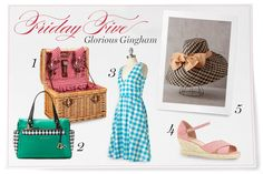 Friday Five: Glorious Gingham Products - victoriamag.com