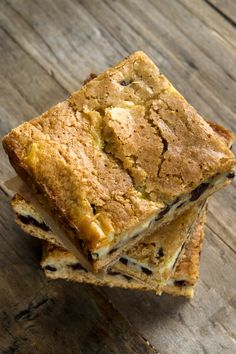 Gluten Free Cheesecake Blondies from Gluten free on a Shoestring
